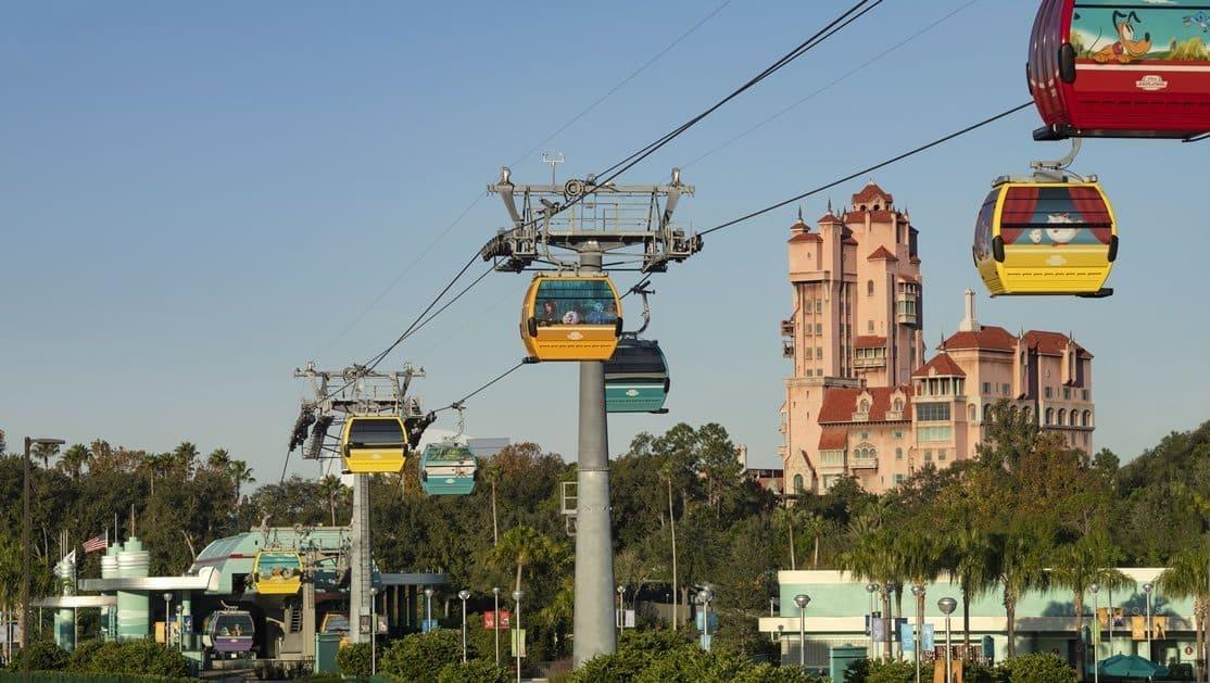 Atracciones Disney Skyliner