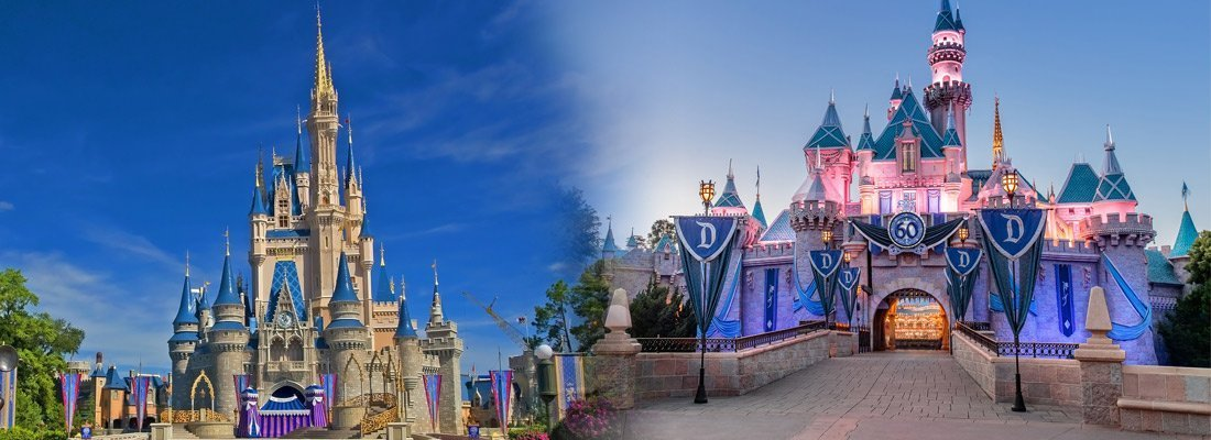 Diferencia entre Disneyland y Disney World