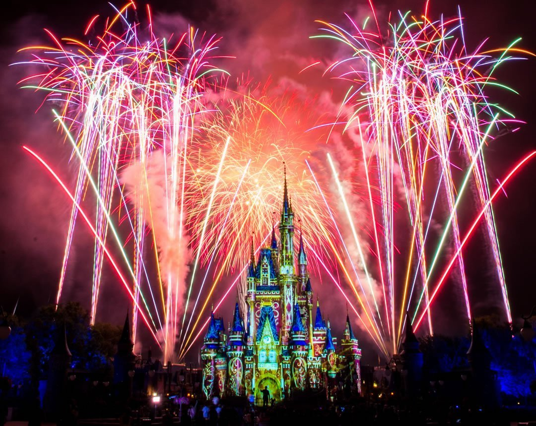 Fuegos Artificiales Disney