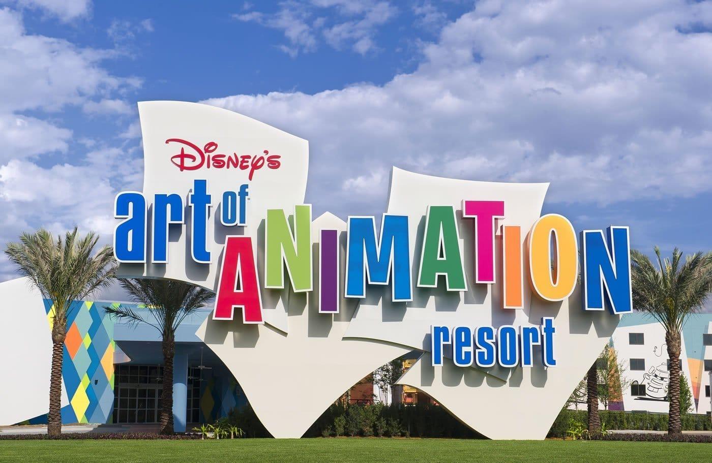 Hotel Disney Art of Animation