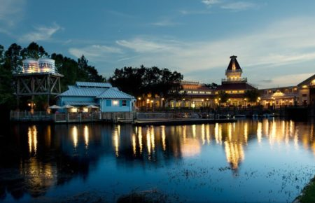Hotel Disney Port Orleans Resort Riverside