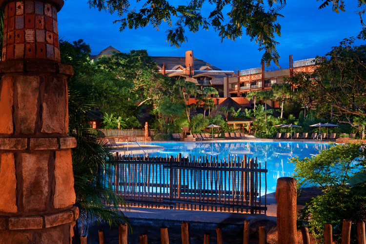 Hotel Animal Kingdom Lodge en Disney World Orlando