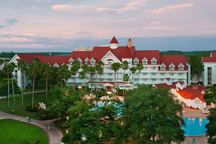 Hotel Grand Floridian en Disney World