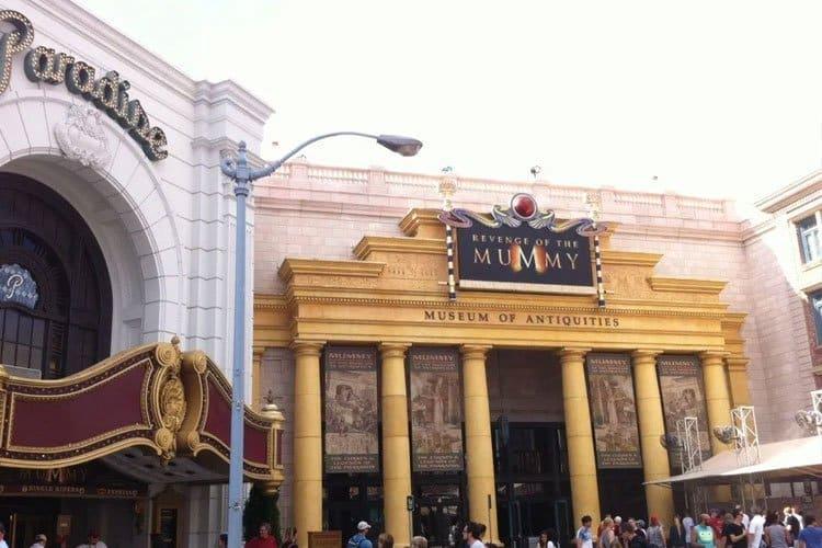 The Mummy es una de las grandes atracciones en Universal Studios