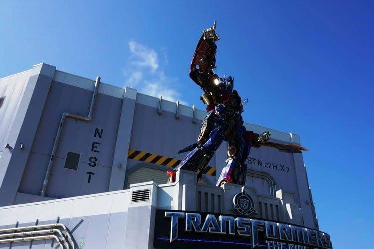 Transformers en Universal Studios en Orlando Florida
