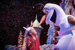Espectáculo de Frozen en los parques Disney Orlando Florida