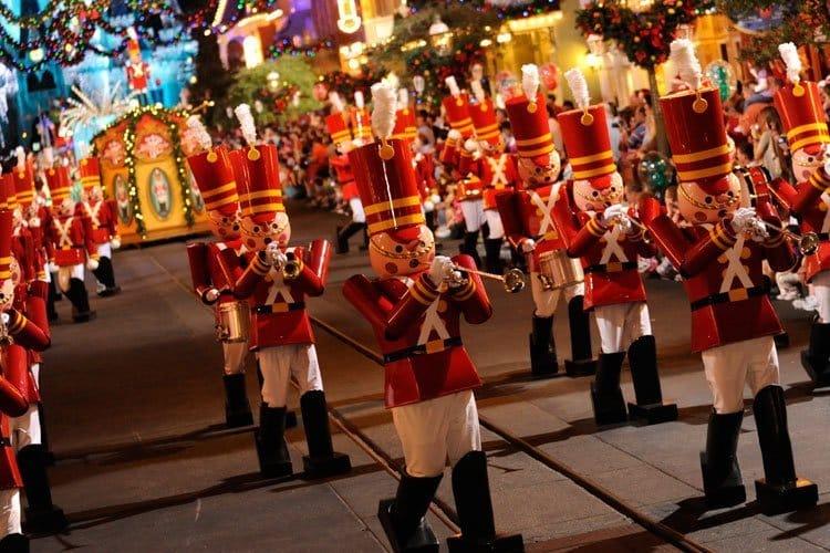 Christmastime en Disney Orlando Florida