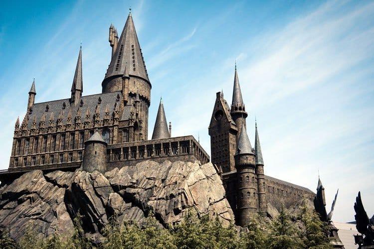 El Castillo de Harry Potter en las atracciones de Universal Studios