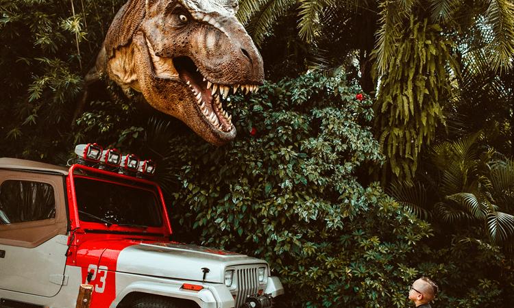 Jurassic world wn Orlando Florida