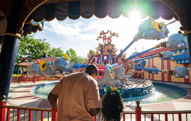 Época para viajar a Disney Orlando
