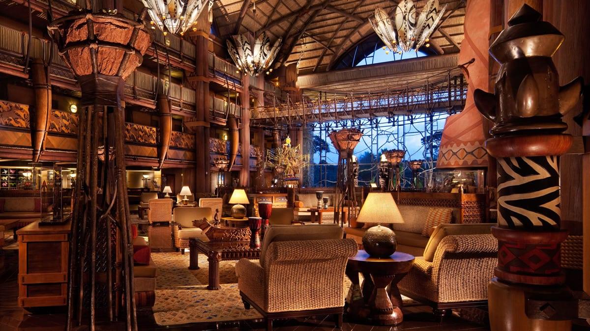 Disney Animal Kingdom Lodge Hotel de Lujo Disney