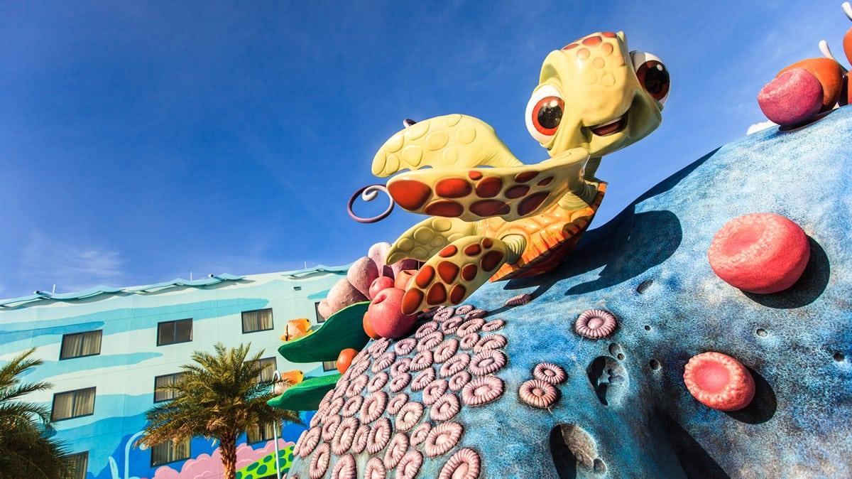 Hoteles Económicos Disney Art of Animation Nemo